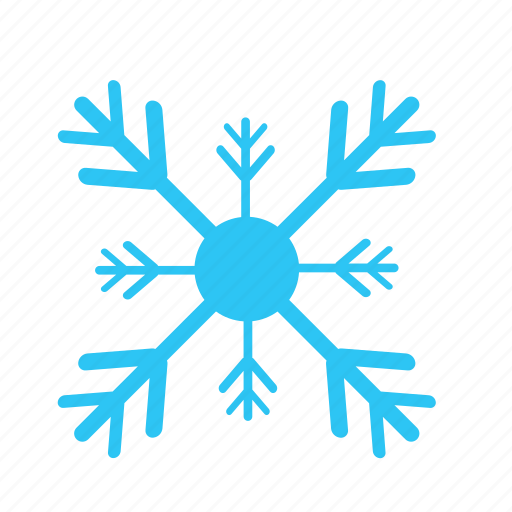 christmas, cold, falling, snow, snowflakes, winter icon