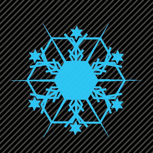 christmas, cold, sky, snowflake, winter icon