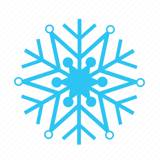 christmas, cold, falling, sky, snow, snowflake, winter icon