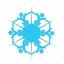 christmas, falling, sky, snow, snowflake, winter icon