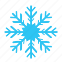 cold, falling, sky, snow, snowflake, winter icon