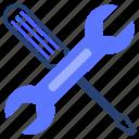screwdriver, wrench, tool, repair