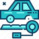 blue, car, key, rent, transportation, travel icon