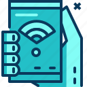 blue, internet, smartphone, travel, wifi, wireless icon