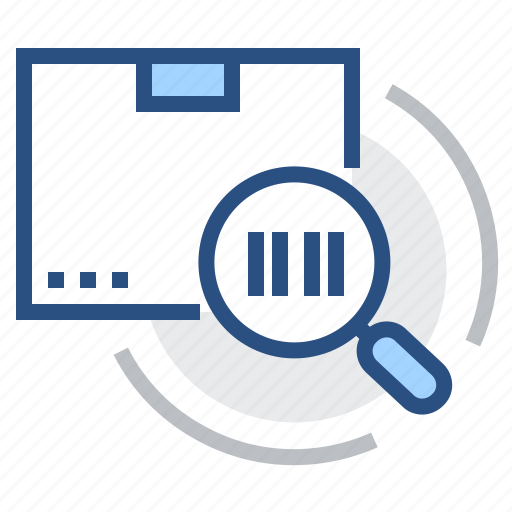 barcode, delivery, following, number, parcel, report, tracking icon