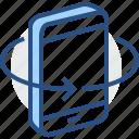 slope, tilt, skew, slant, controls, operation, inclination icon