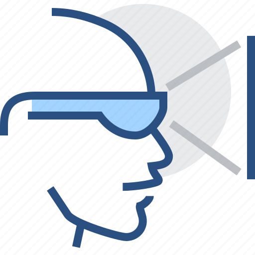 eyeglasses, glasses, imaginary, seeming, sight, specs, virtual icon
