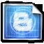 blogger, blue print icon