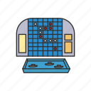 battleship, board game, boardgames, games, guessing game, monopoly, strategy game icon