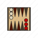 backgammon, boardgames, games, monopoly, monopoly piece, strategy game icon