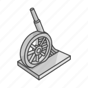 boardgames, cannon, cannon monopoly, games, gun, monopoly, monopoly piece icon