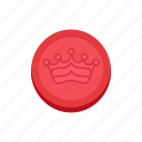 boardgames, checkers, chess game, crown, draughts, games, monopoly icon