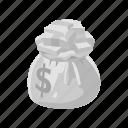 board games, dollar, dollar bag, games, money, money bag, monopoly icon