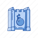 boardgames, bomb, castle, games, monopoly, stratego icon