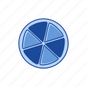 boardgames, games, monopoly, round board, trivial game, trivial pursuit, wheel of fortune icon
