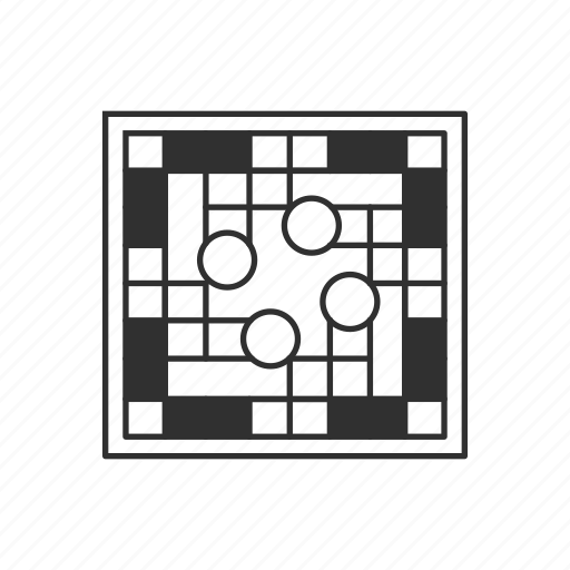 Board Board Game Circle Cross Sorry Sorry Board Square Board Icon