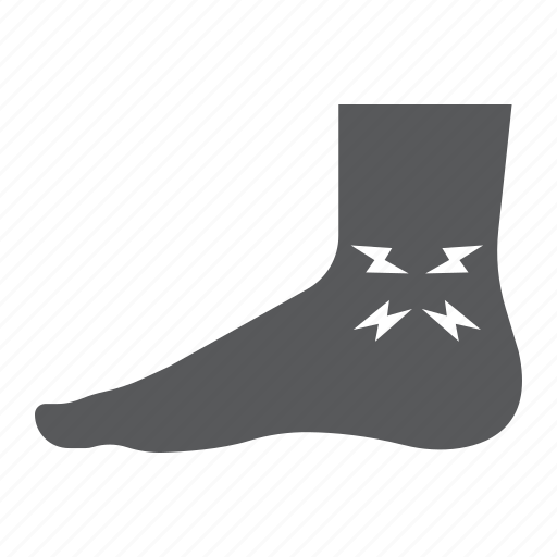 Ache, ankle, body, foot, injure, leg, pain icon - Download on Iconfinder