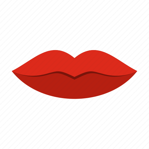 beauty, face, female, girl, human, lip, mouth icon