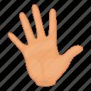 hand, body, finger, part