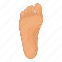 feet, foot, footprint, leg icon