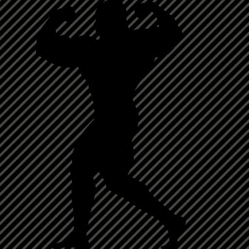 athlete, body, bodybuilder, bodybuilding, exercise, fitness, gym, man, muscle, sport icon