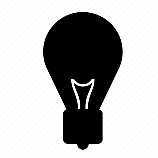 bulb, electricity, lamp, light, lightbulb, tube icon