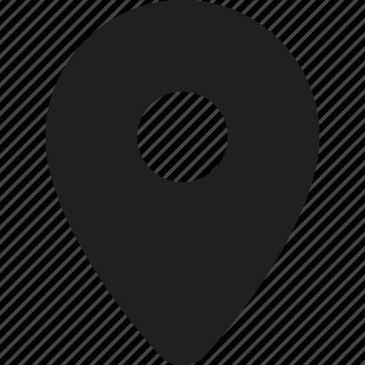 address, gps, location, map, marker, pin icon