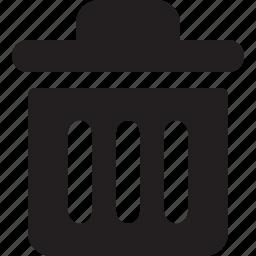 delete, recycle, remove, trash, waste icon