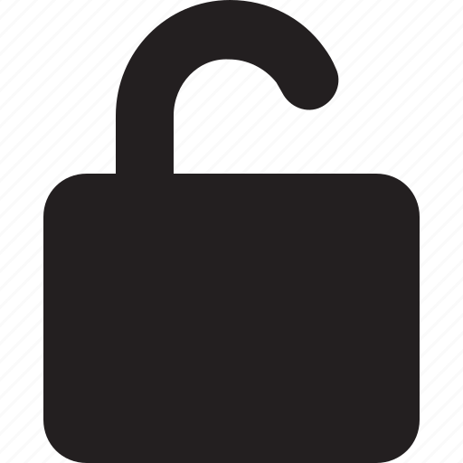 lock, open, unlock, unlocked icon