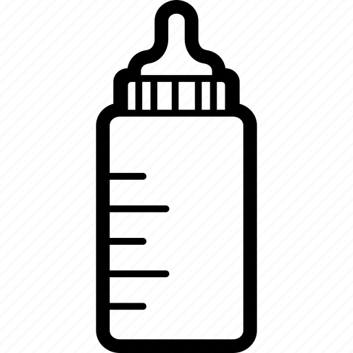 baby, bottle, feeding, milk icon