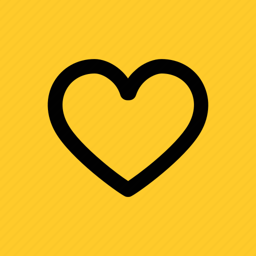 favorite, heart, like, love, romantic, valentine icon