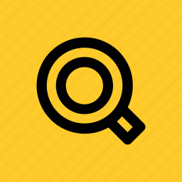 find, glass, look, magnifier, magnifying, search, zoom icon