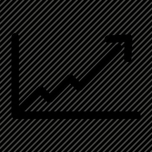 diagram, finance, growth, market, money, rise, stock icon