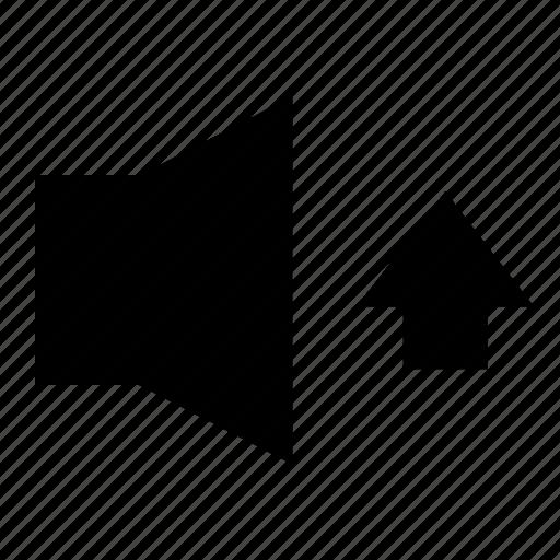 audio, icrease volume, media, player, sound, speaker, volume icon