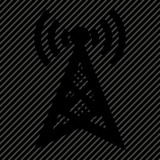 Antenna, communication, internet, network, signal, wireless icon - Download on Iconfinder