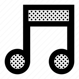 beam, music, notes, sound icon