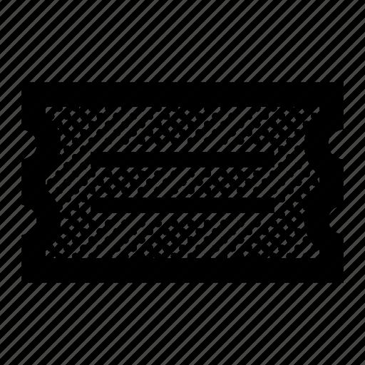 Docket, event, paper, receipt, ticket icon - Download on Iconfinder