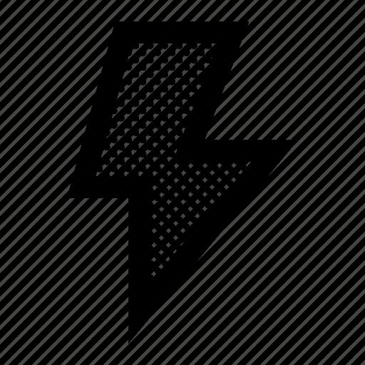 activity, bolt, energy, lightbolt, lightning, notification, power icon