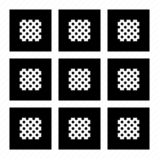 grid, squares, table, thumbnails icon