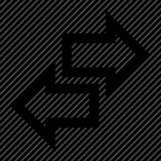 arrows, left, next, previous, reverse, right, sort icon