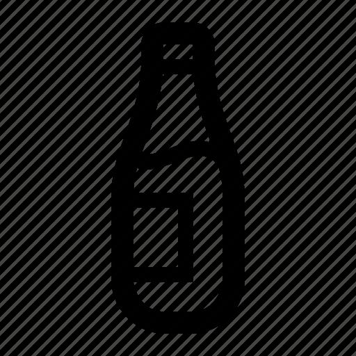 beer, bottle, lager, light icon