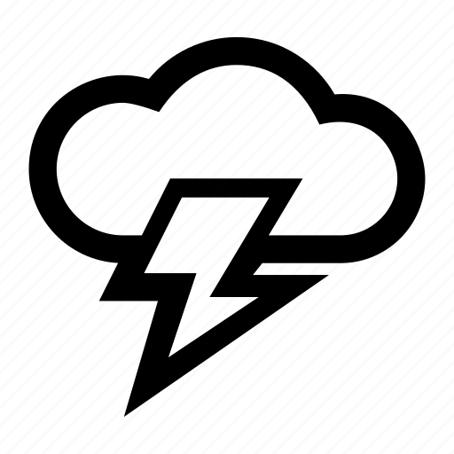 electric, lightning, storm, thunderstorm, weather icon