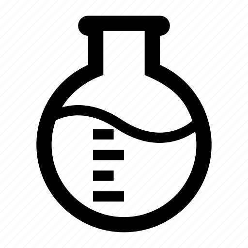 experiment, flask, lab, research, spheric, test icon