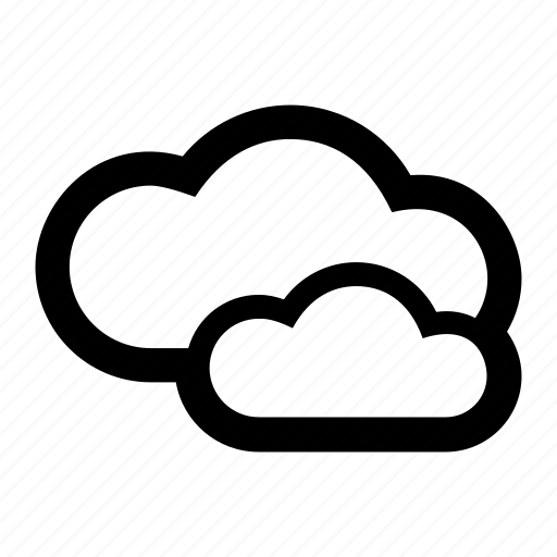 cloud, cloudy, forecast, sky, weather icon