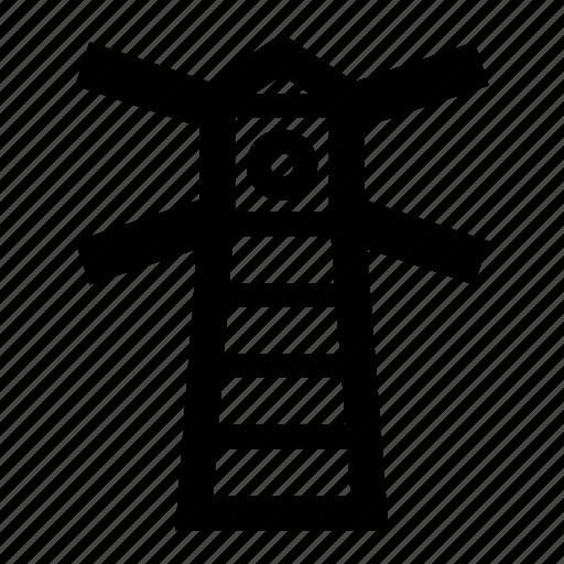 building, lighthouse, marine, nautical, navigation icon
