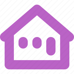 building, direction, home, internet, live, place icon
