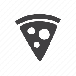 pizza, slice icon