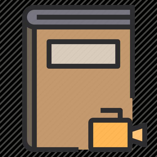 agenda, book, business, notebook, record, vdo icon