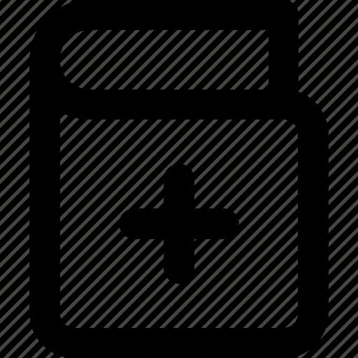 Ux, app, add, book icon, ui, interface, book icon