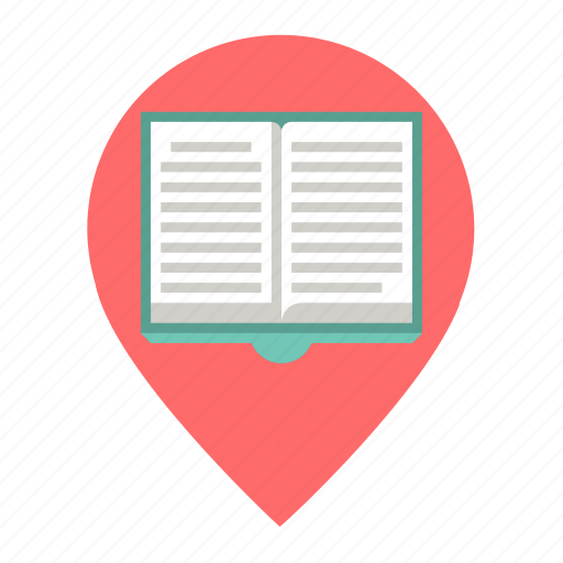 Book, library, location icon - Download on Iconfinder
